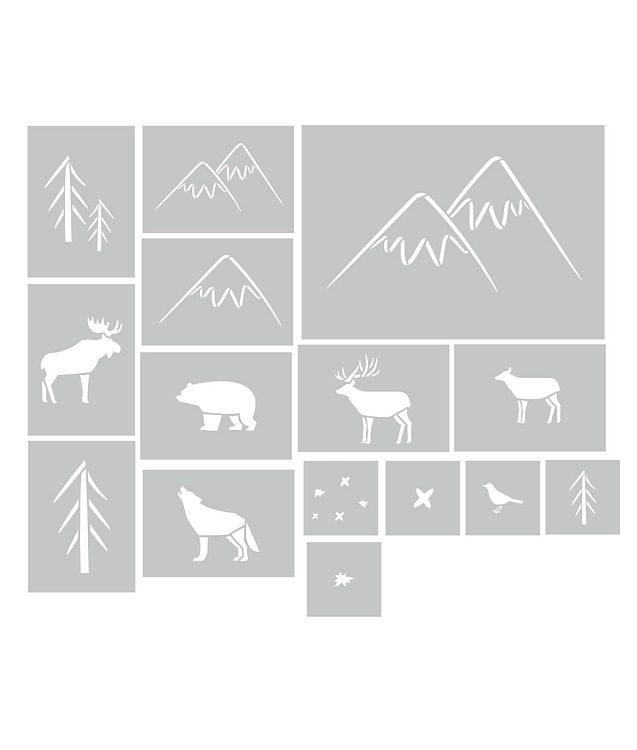 Sada Lesné zvieratká