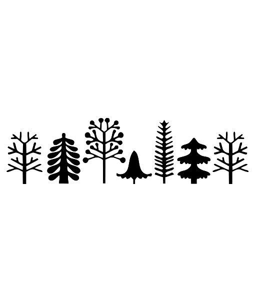 Bordúra Nordic Trees