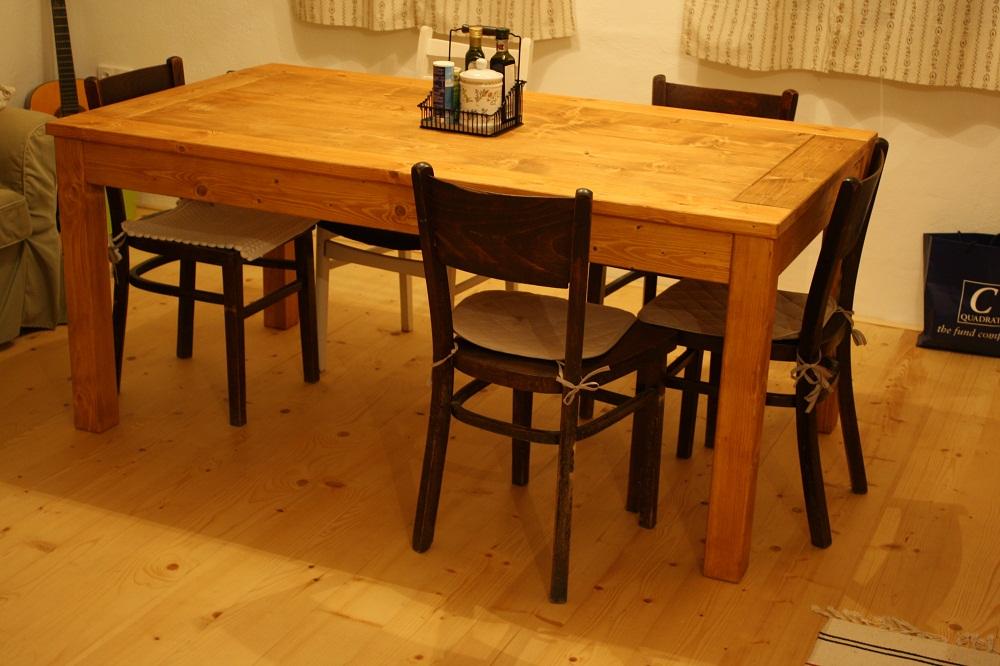 Stôl do vidieckej kuchyne