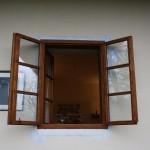 Špaletové okná na chalupu