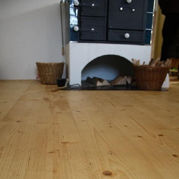 Drevená podlaha na chalupu