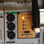GSM spínač na DIN lištu