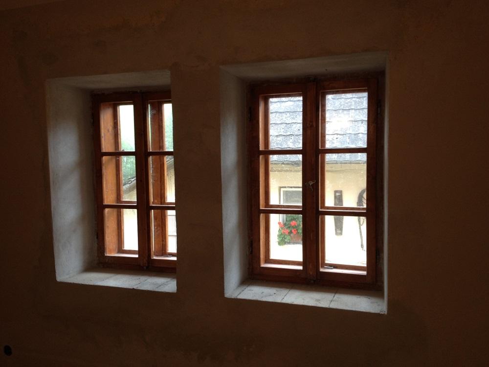 Výmena okna na chalupe