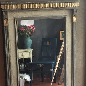 Elegantné zrkadlo