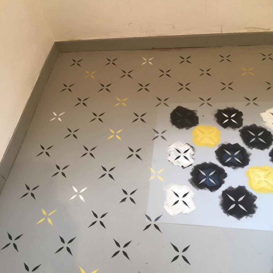 Maľovanie betónovej podlahy s Chalk Paint™