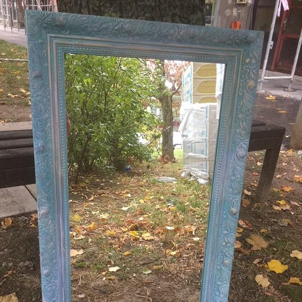 Maľované zrkadielko
