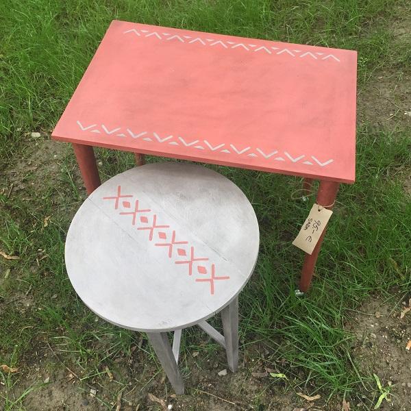 Sada servírovacích stolčekov