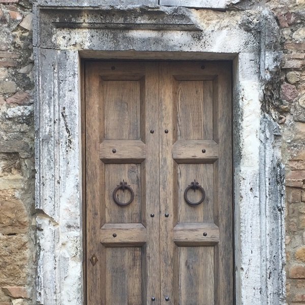 Toskánske dvere