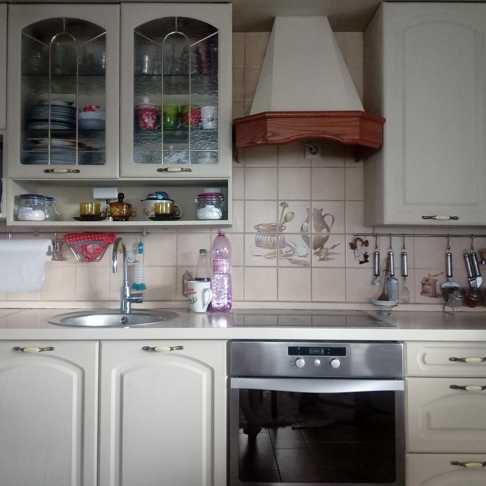 Premaľovanie fóliovanej kuchynskej linky