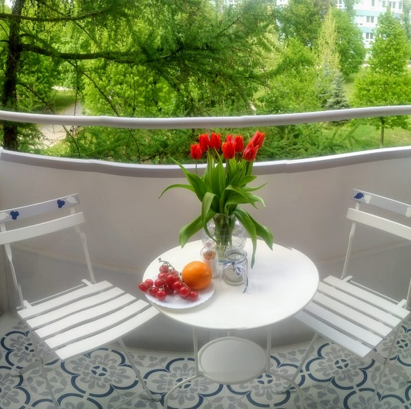 Premena jedného malého balkóna