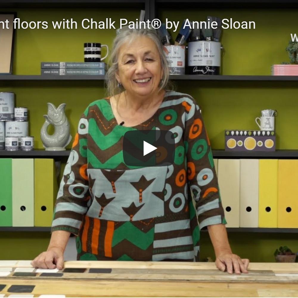 Maľovanie drevenej podlahy