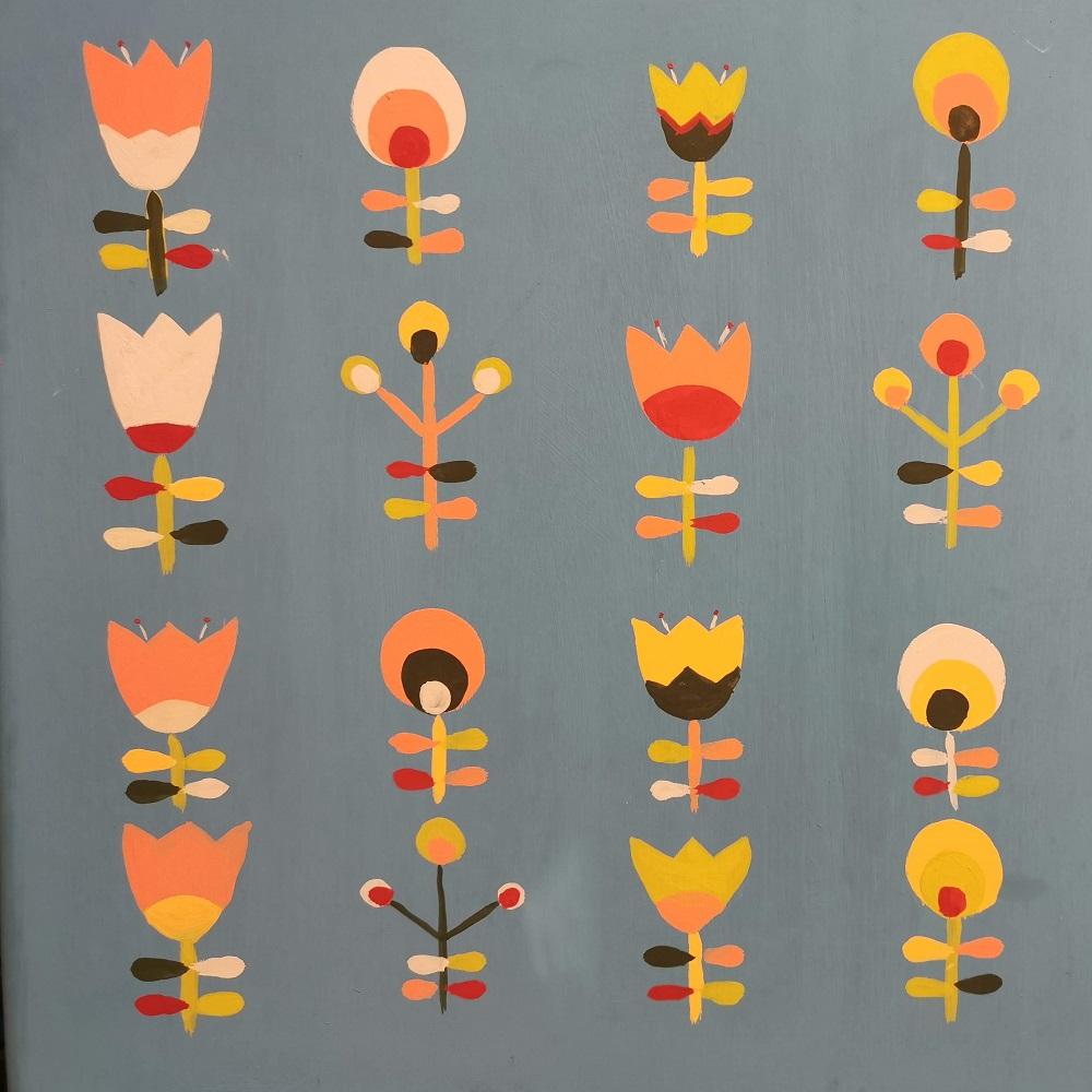 Maľovanie ornamentov voľnou rukou