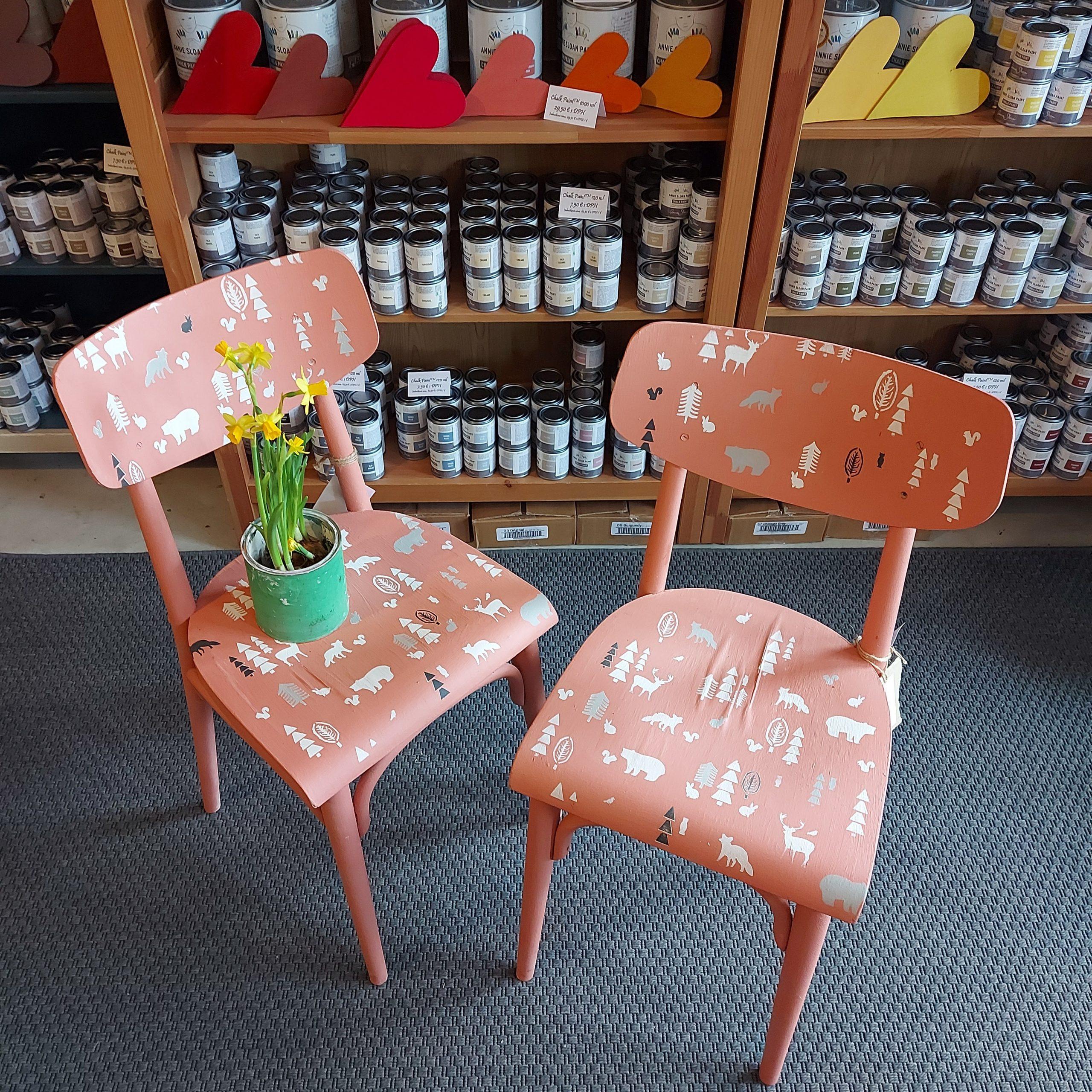 Stoličky škandinávske sestričky